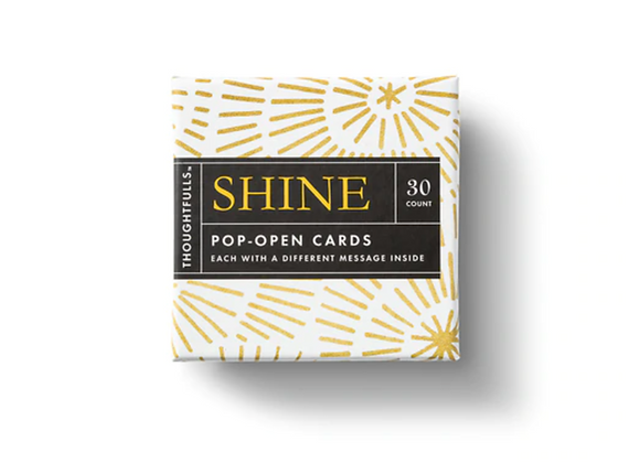 Pop- Open Cards: Shine