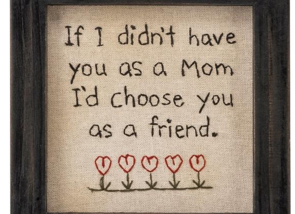 Stitchery - Mom Sign