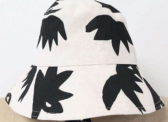 WORN BLACK LOTUS BUCKET HAT