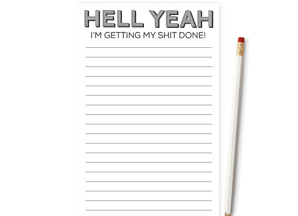 Hell Yeah Notepad