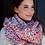 Thumbnail: Woven Knit Scarf- Bright
