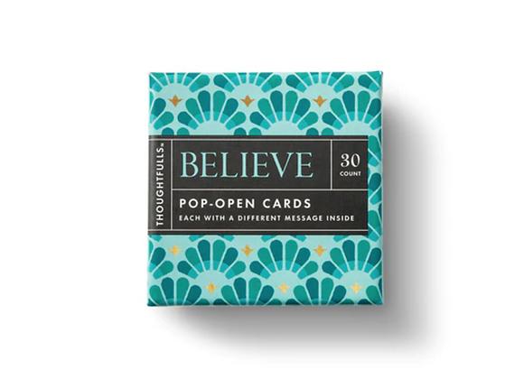 Pop- Open Cards: Believe