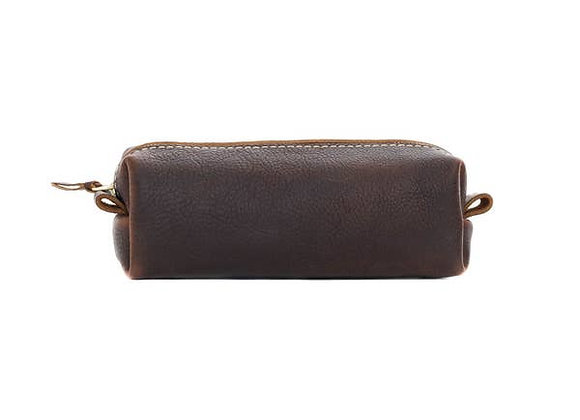 Leather Toiletry Bag-Standard-River