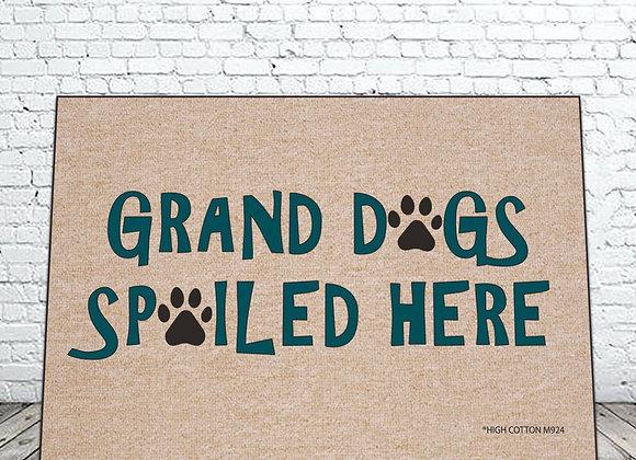 Grand Dogs Door Mat