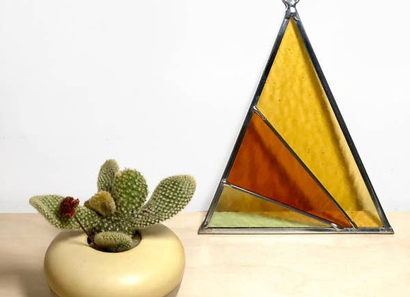 Rays Triangle Suncatcher - Field