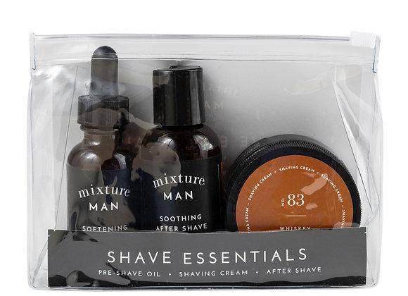 Mens Shave Essentials Gift Set