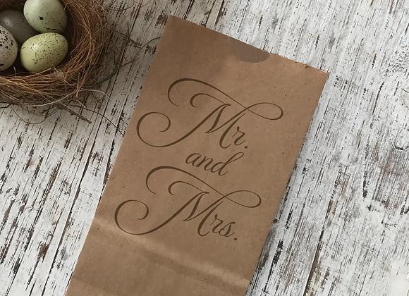 Mr. & Mrs. Snack Bag