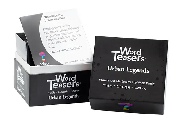 Urban Legends WordTeasers