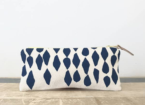 Limoges Leaves Pencil Zipper Bag