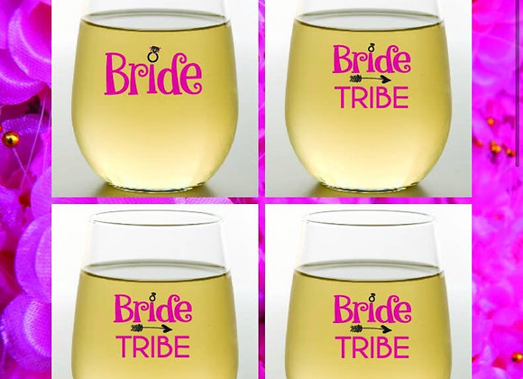 BRIDE TRIBE - Wine Glass