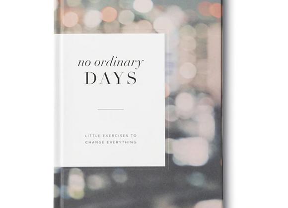 No Ordinary Days Gift Book