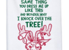 DOG TREE - Dish Towel