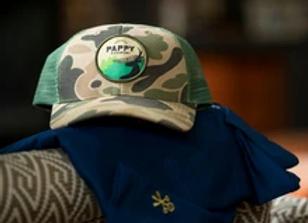 Pappy Van Winkle | Camo Pappy Trucker Hat
