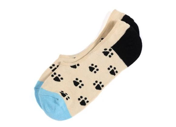 No-Show Socks: Paws