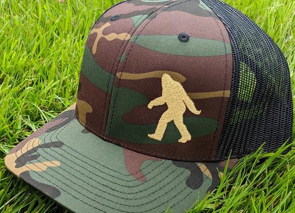 Sasquatch Camo Trucker Hat