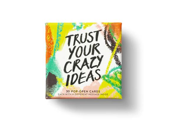 Pop- Open Cards: Trust Your Crazy Ideas