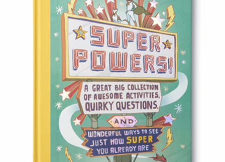 Super Powers Activity Book