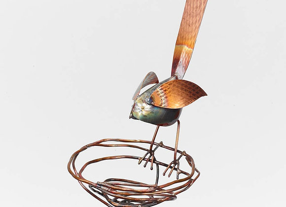 Bird on Nest Art