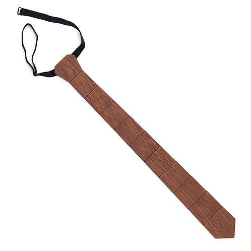 Wooden Tie - Iroko wood