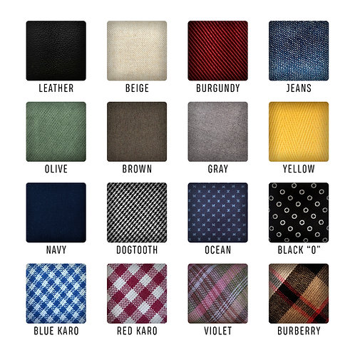 Extra fabrics - for women's bow ties