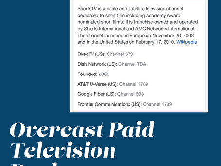 Overcast Broadcast Deal