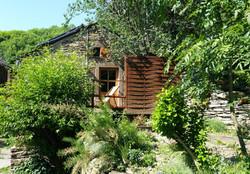 Gite terrace & side garden