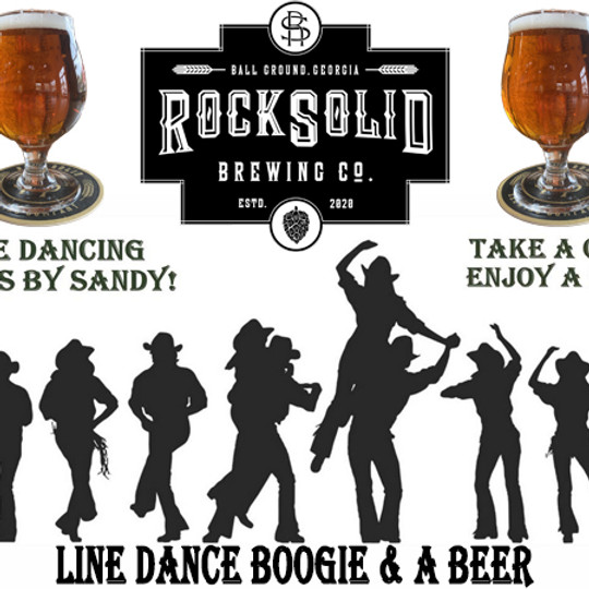 Line Dance Boogie & A Beer @ RockSolid Brewing Co.
