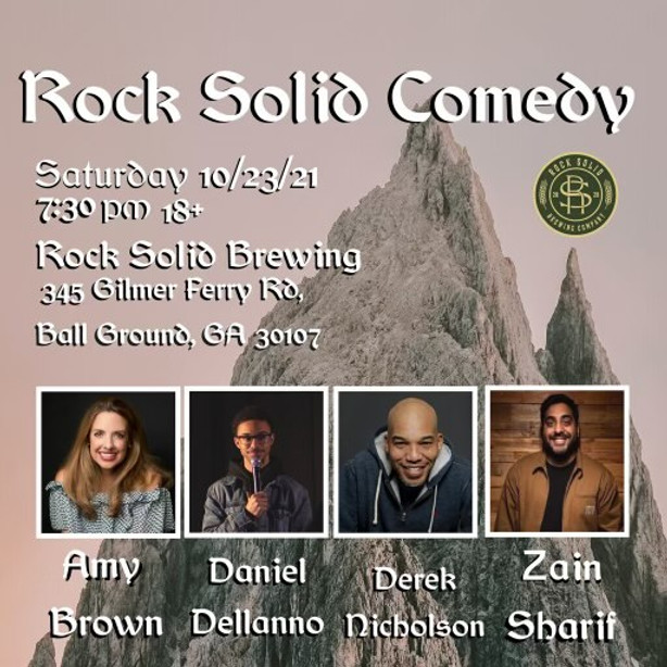 Comedy Night at RockSolid Brewing Co.