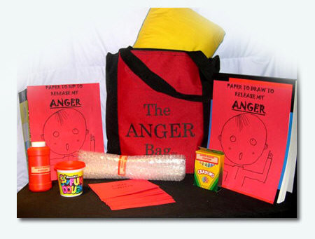 The Anger Bag: A Coping Skills Bag DIY for Children by Jeanette Yoffe M.F.T.