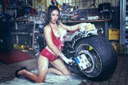 Motorrad-Shooting