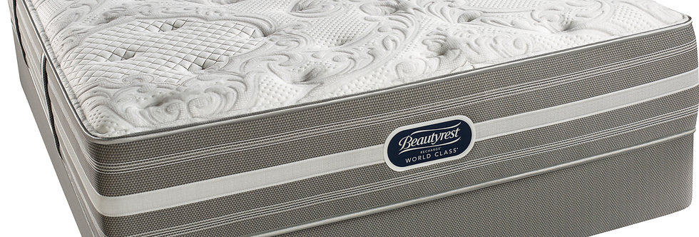 SIMMONS BEAUTYREST WORLD CLASS RECHARGE SHAKESPEARE LUXURY FIRM MATTRES