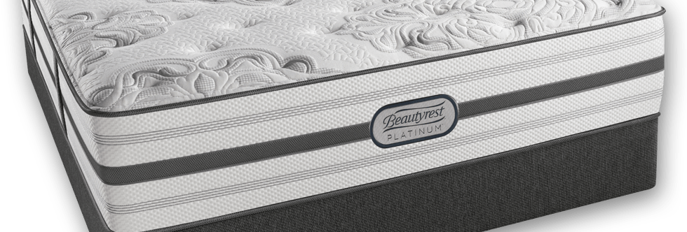 SIMMONS BEAUTYREST PLATINUM LUX PLUSH MATTRESS
