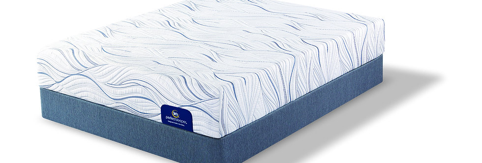 "SERTA PERFECT SLEEPER 12"" GEL MEMORY FOAM MATTRESS"