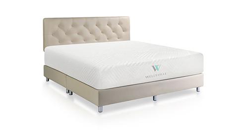 wellsville 14 plush gel memory foam mattress - Memory Foam Bed Frame