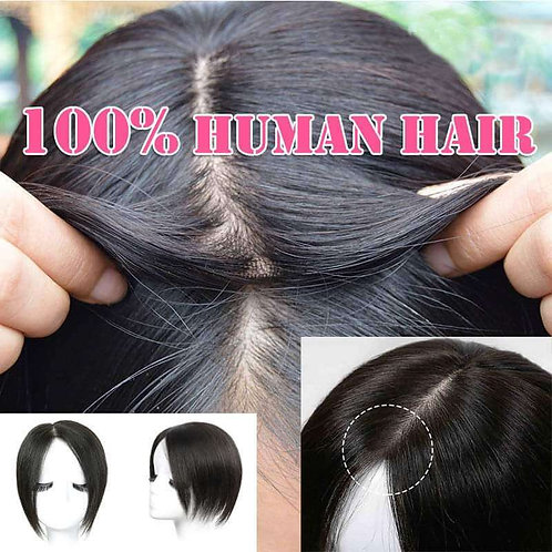 חצי פאה שיער טבעי אמיתי
