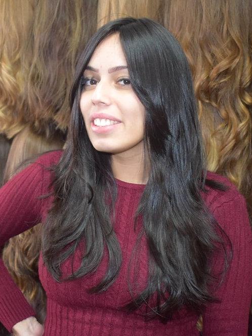 פאת קאסטם ארוכה שיער ברזילאי