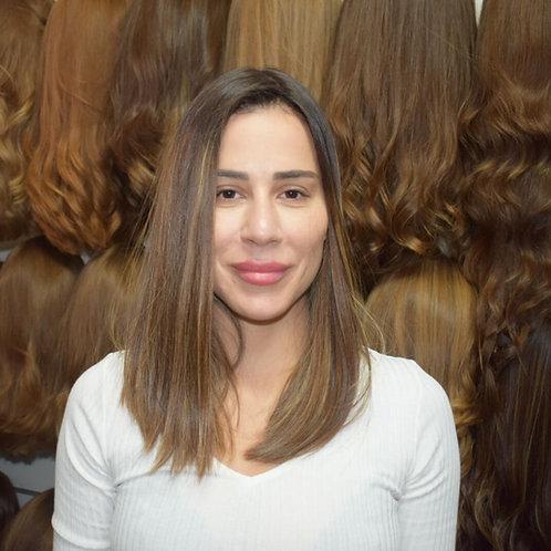 פאת קאסטם שיער ברזילאי דק איכותי