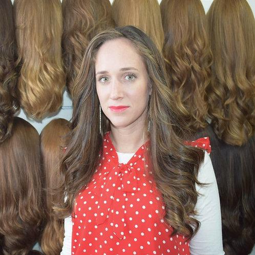 פאה בלונד טבעי שיער רוסי משובח