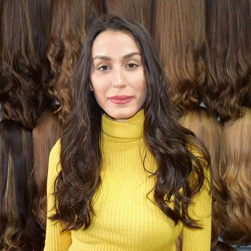 פאה ארוכה שיער ברזילאי דק איכותי