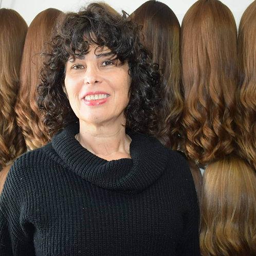 פאת קאסטם קצרה ייבוש טבעי מתולתלת שיער ברזילאי איכותי