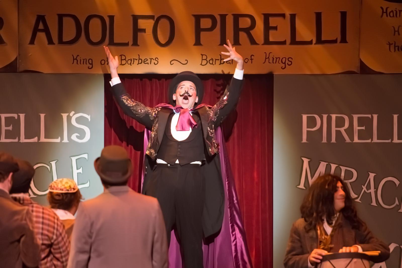 Pirelli in Sweeney Todd