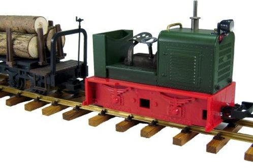 O&K-Diesellokomotive, offen (Bausatz)