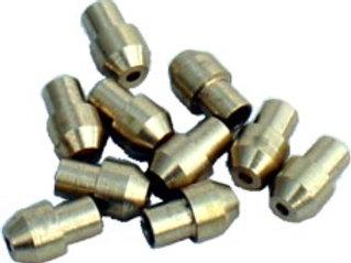 Lötringe für 2mm Rohr u. Überwurfmuttern M 5 x 0.5, 10 Stück