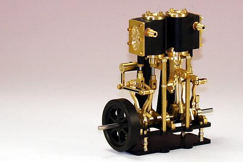 LETO 2 Zylinder Dampfmaschine