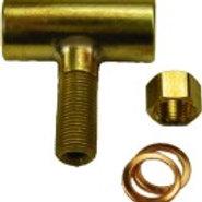 T- Verbinder für Gashähne M5 x 0.5
