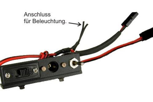 Schalterleiste mit Ladebuchse
