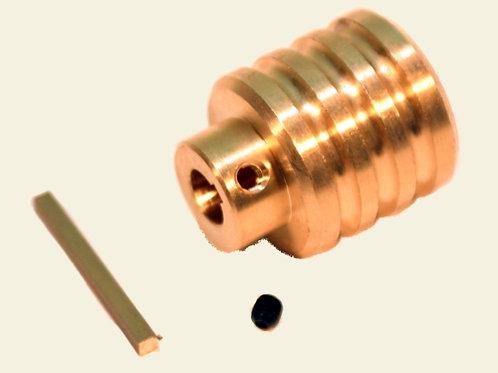 Schnurrolle- Welle 6mm Durchmesser