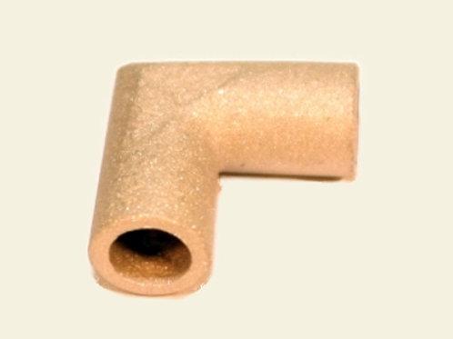 L- Verbinder zum Verlöten für Ø 4mm Rohr