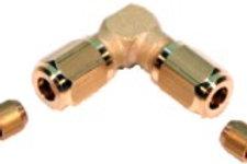 L- Verbinder zum Verschrauben Ø 3mm M5 x 0.5