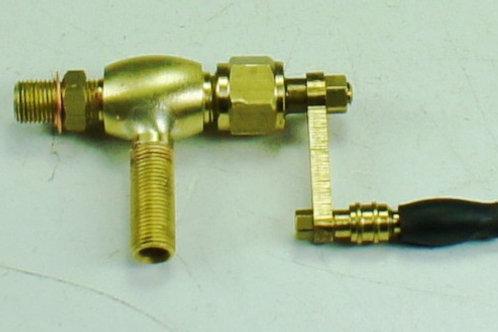 Dampfhahn mit Hebel M5 x 0.5